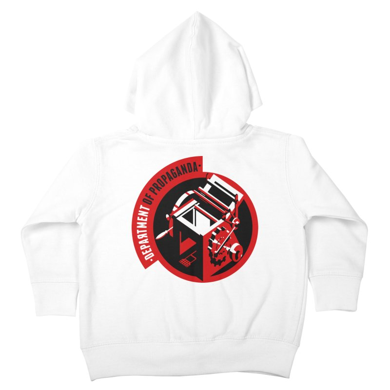 Department of Propaganda Printing Press Kids Toddler Zip-Up Hoody by Propaganda Department
