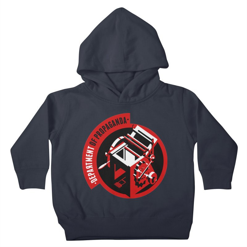 Department of Propaganda Printing Press Kids Toddler Pullover Hoody by Propaganda Department