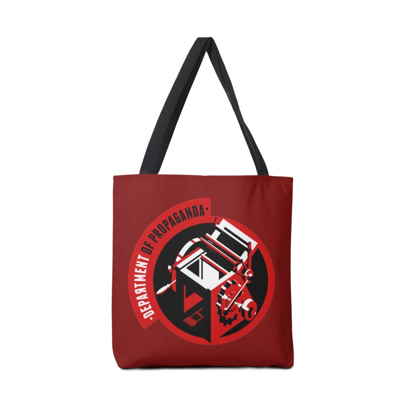 Department of Propaganda Printing Press Accessories Bag by Propaganda Department