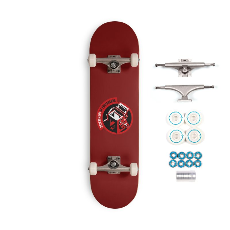 Department of Propaganda Printing Press Accessories Complete - Basic Skateboard by Propaganda Department