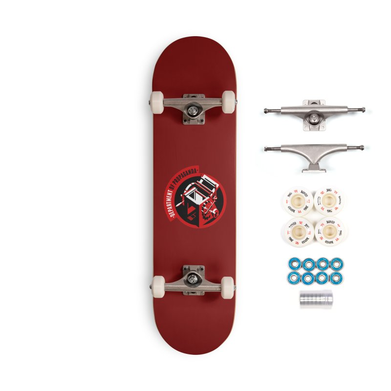 Department of Propaganda Printing Press Accessories Complete - Premium Skateboard by Propaganda Department