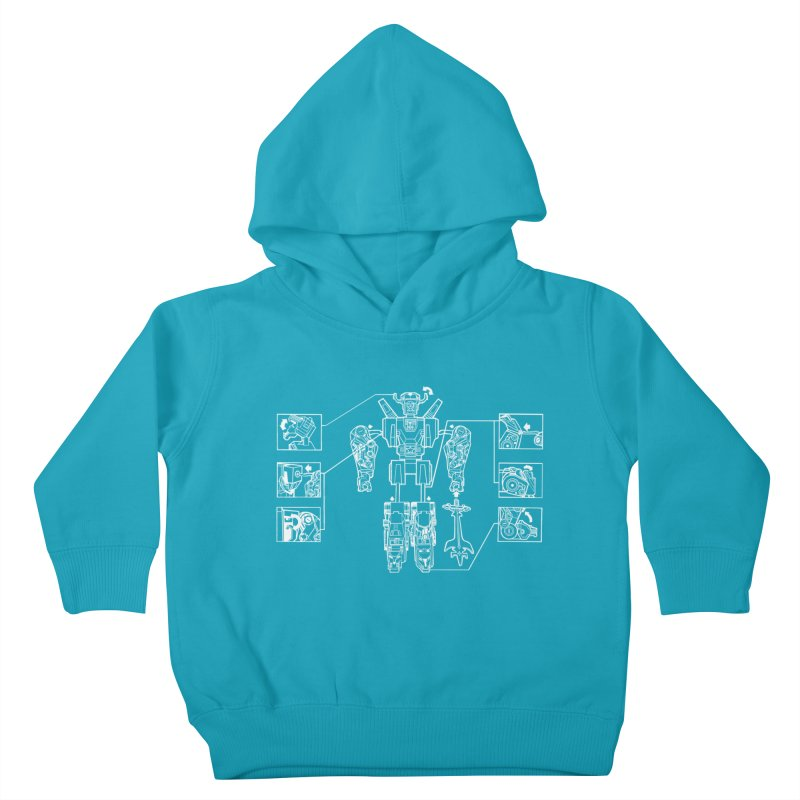 Universe Sold Separately Kids Toddler Pullover Hoody by Propaganda Department
