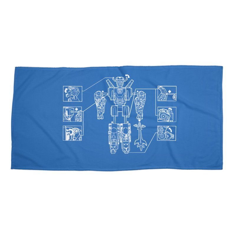 Universe Sold Separately Accessories Beach Towel by Propaganda Department