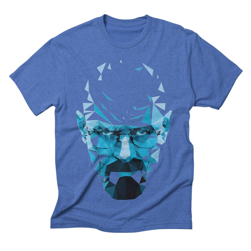 MR. WHITE'S BLUE Men's Triblend T-shirt by Propaganda Department
