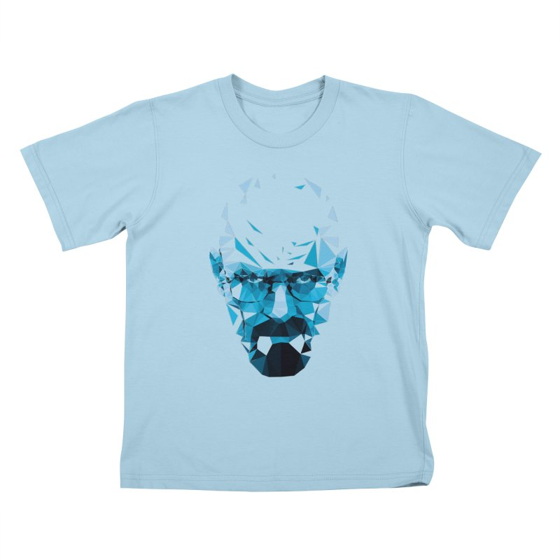 MR. WHITE'S BLUE Kids T-shirt by Propaganda Department
