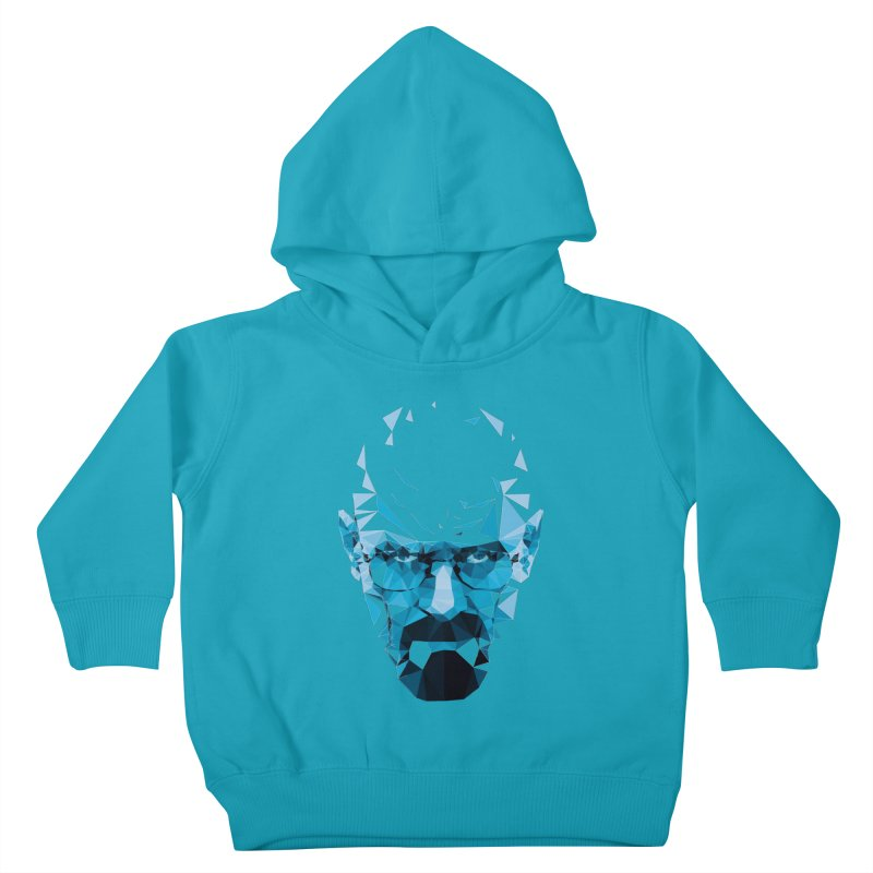 MR. WHITE'S BLUE Kids Toddler Pullover Hoody by Propaganda Department