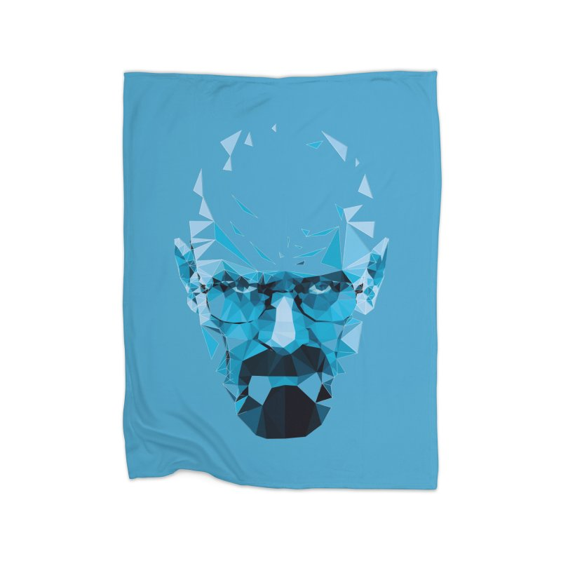 MR. WHITE'S BLUE Home Blanket by Propaganda Department