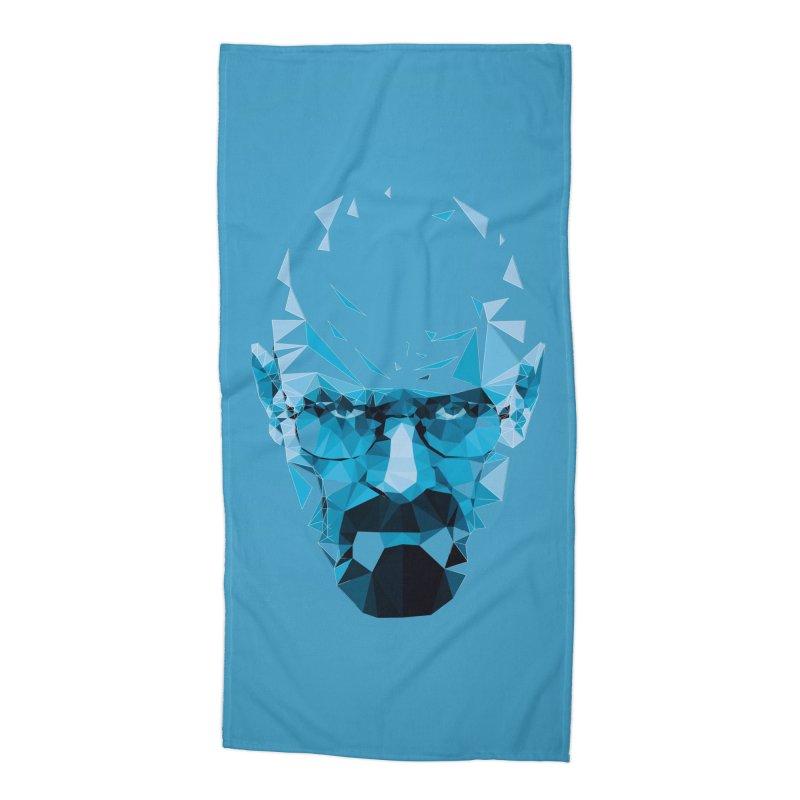 MR. WHITE'S BLUE Accessories Beach Towel by Propaganda Department