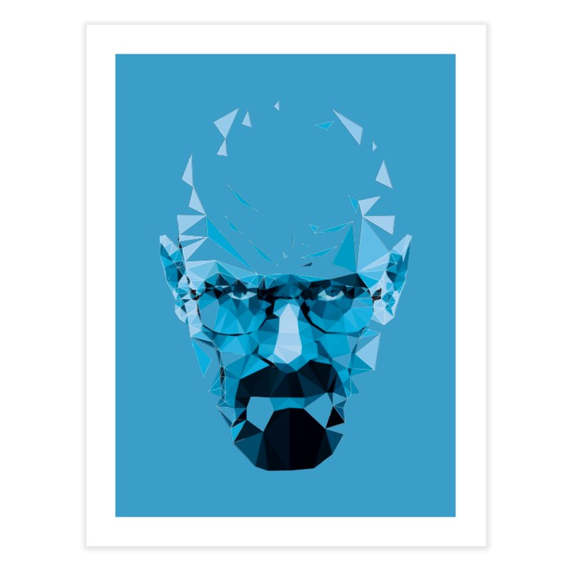 MR. WHITE'S BLUE Home Fine Art Print by Propaganda Department