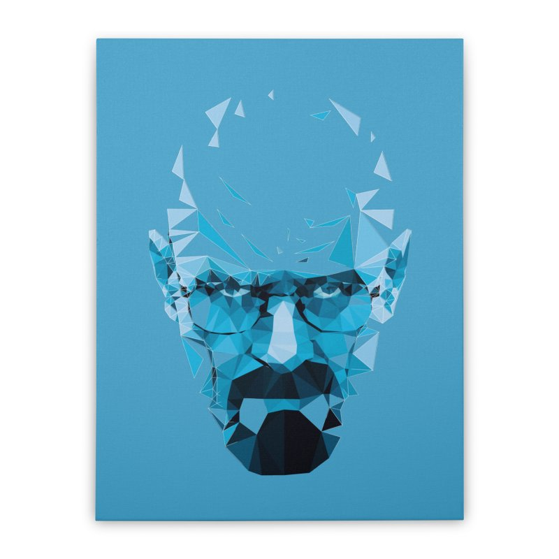 MR. WHITE'S BLUE Home Stretched Canvas by Propaganda Department