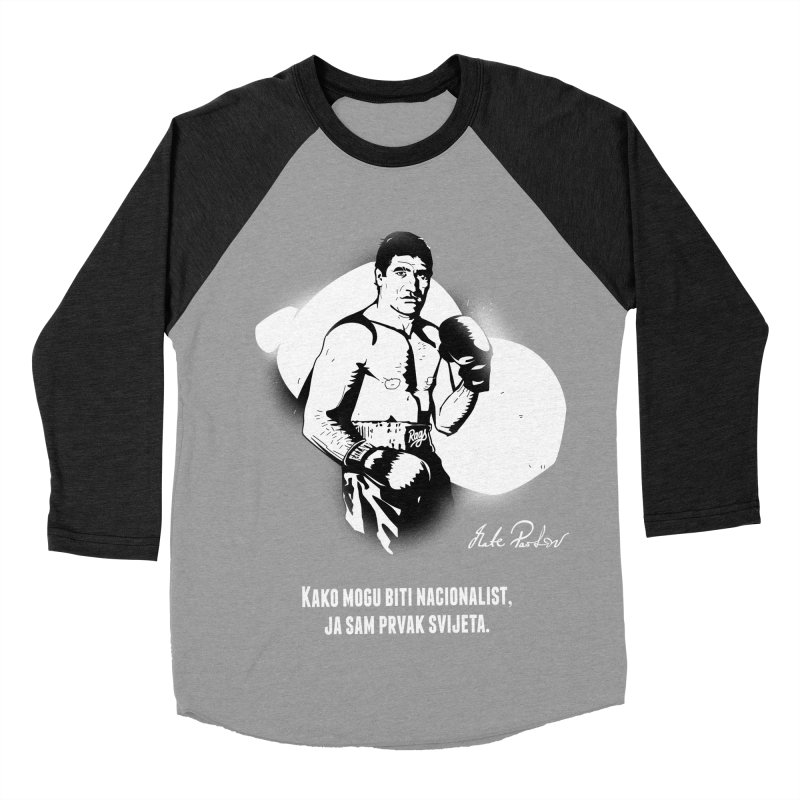 Parlov Men's Baseball Triblend T-Shirt by Propaganda Department