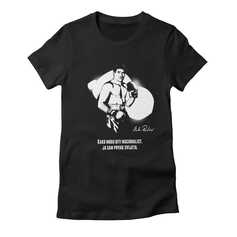 Parlov Women's Fitted T-Shirt by Propaganda Department