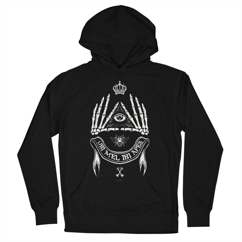 UBI MEL IBI APES Women's Pullover Hoody by Propaganda Department