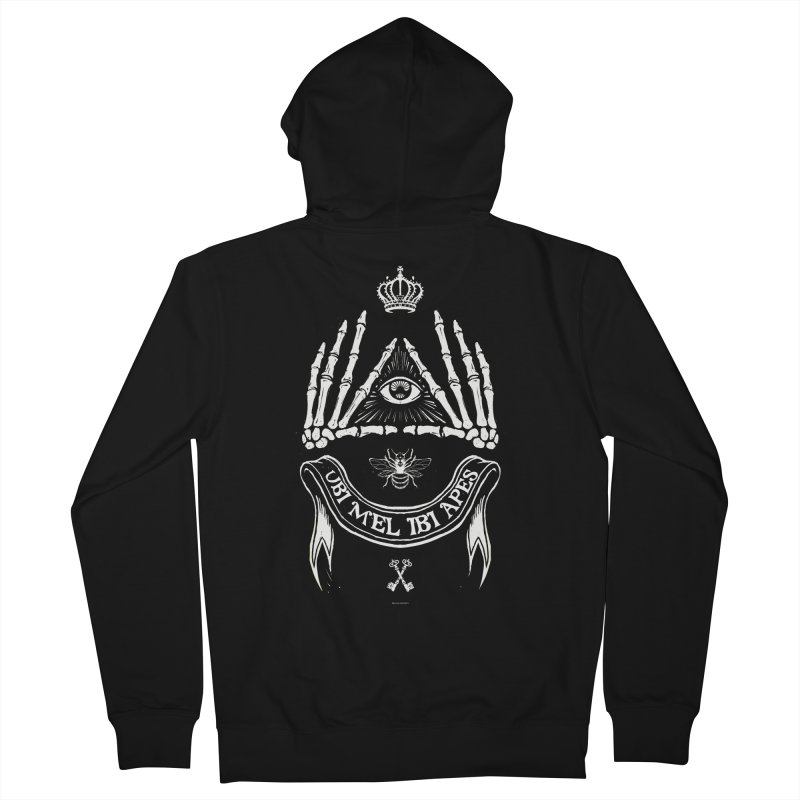 UBI MEL IBI APES Women's Zip-Up Hoody by Propaganda Department