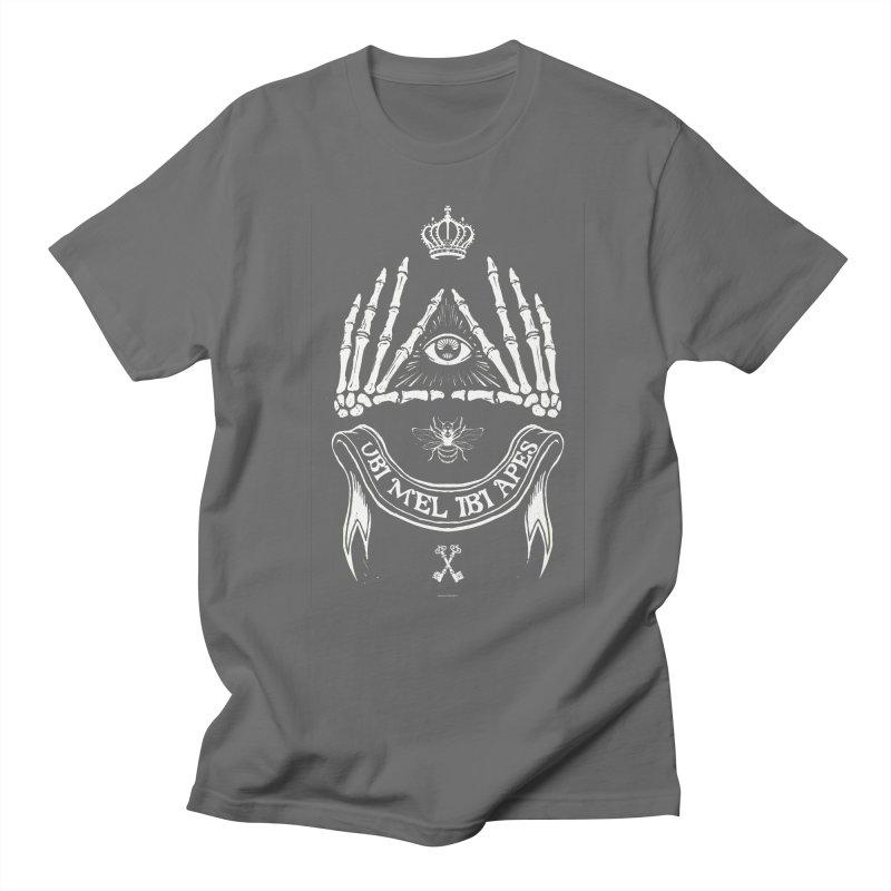 UBI MEL IBI APES Men's T-shirt by Propaganda Department