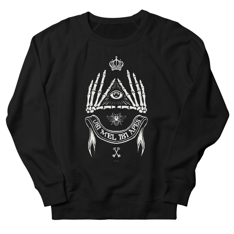 UBI MEL IBI APES Women's Sweatshirt by Propaganda Department
