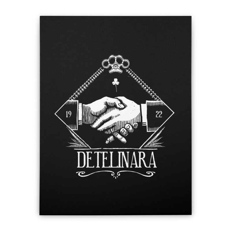 Detelinara Home Stretched Canvas by Propaganda Department