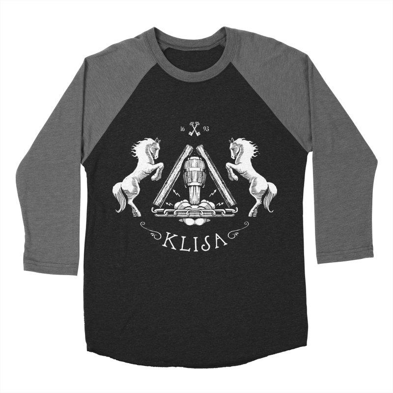 Klisa Men's Baseball Triblend T-Shirt by Propaganda Department