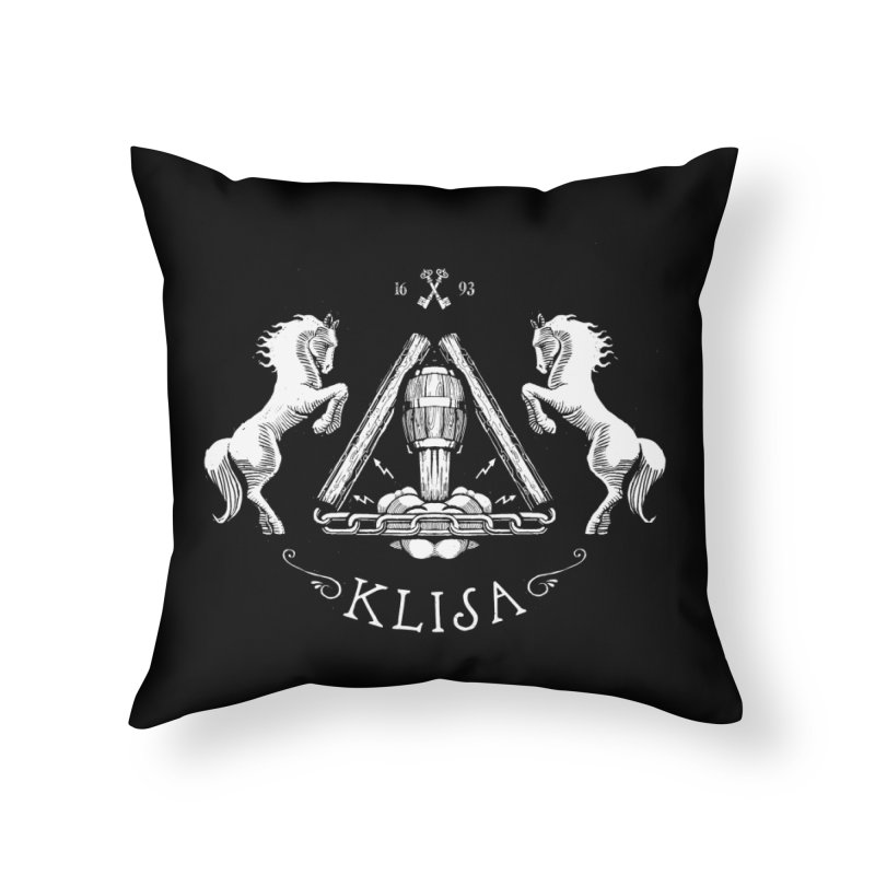 Klisa Home Throw Pillow by Propaganda Department