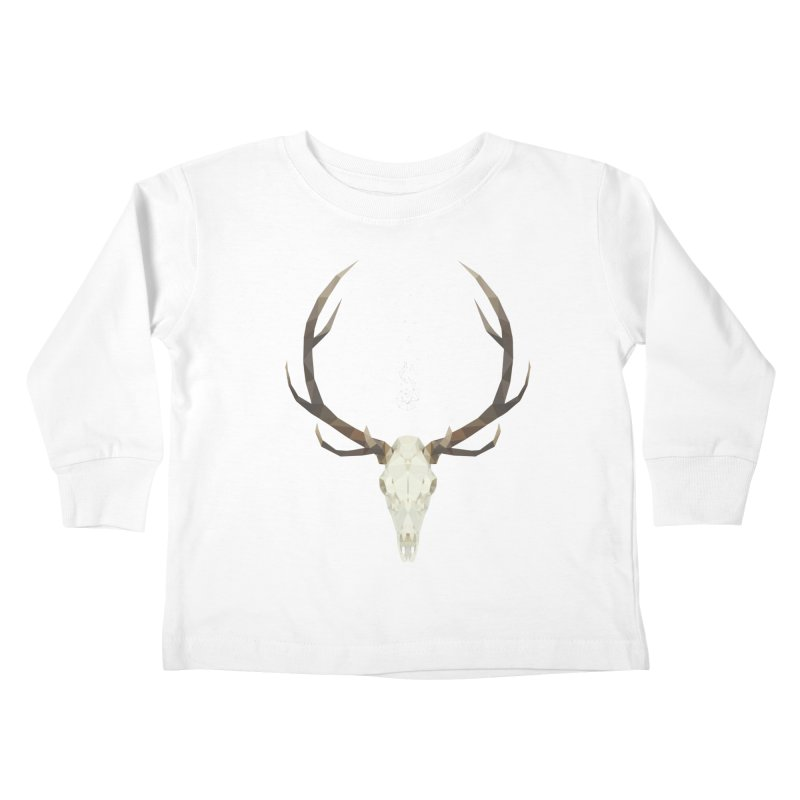 White Stag Kids Toddler Longsleeve T-Shirt by Propaganda Department
