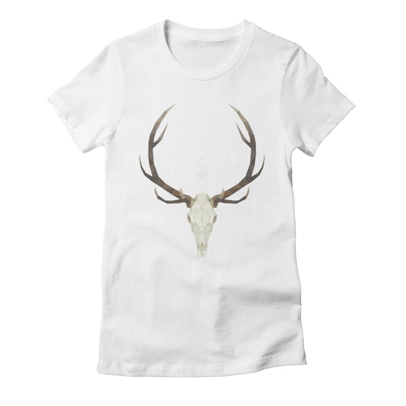 White Stag Women's Fitted T-Shirt by Propaganda Department