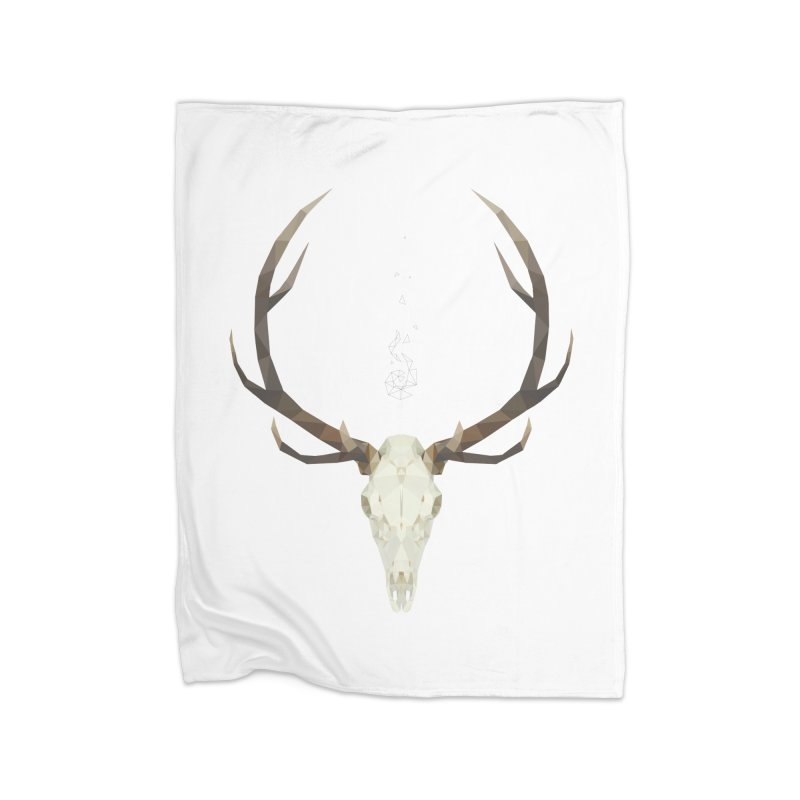 White Stag Home Blanket by Propaganda Department