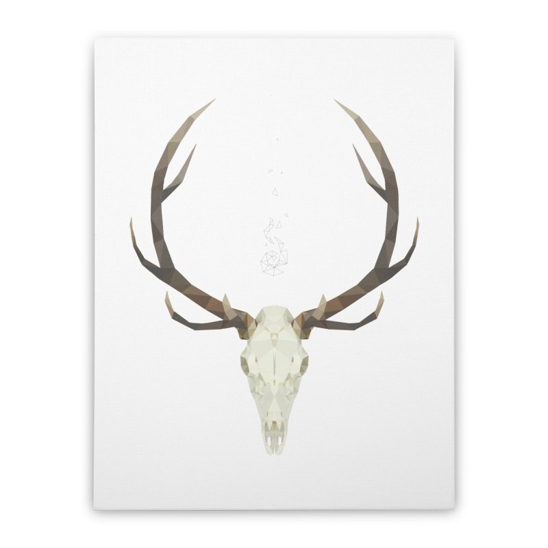 White Stag Home Stretched Canvas by Propaganda Department