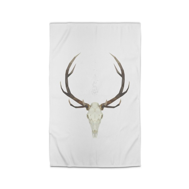White Stag Home Rug by Propaganda Department