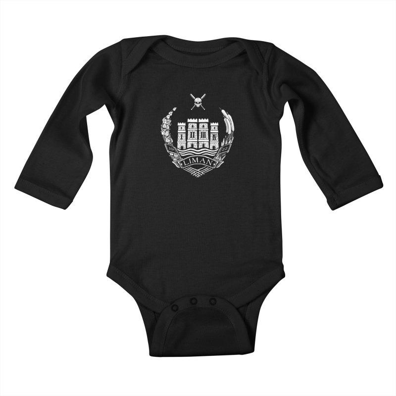 Liman Kids Baby Longsleeve Bodysuit by Propaganda Department