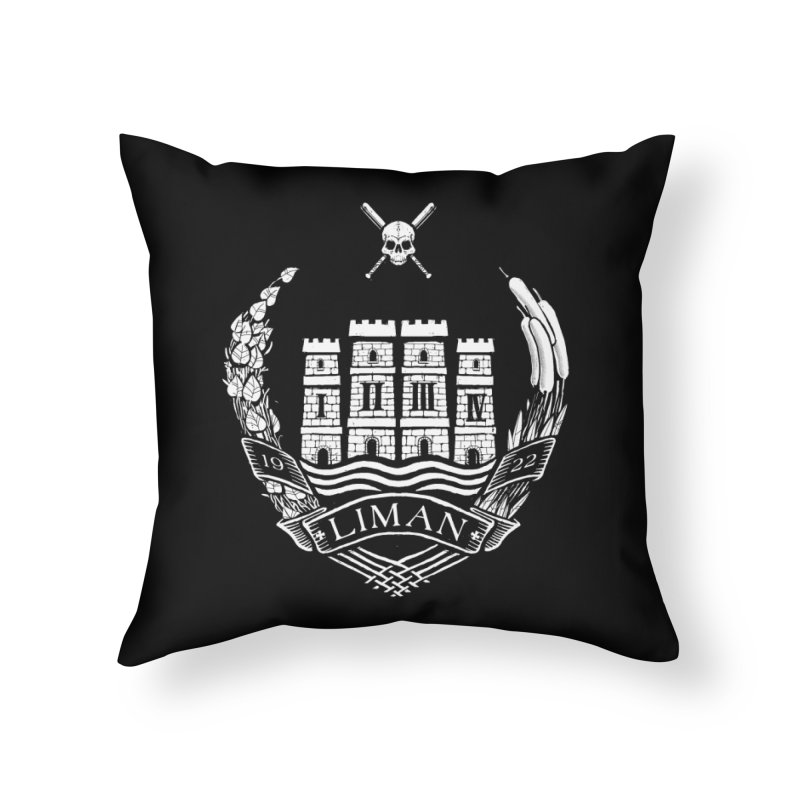 Liman Home Throw Pillow by Propaganda Department