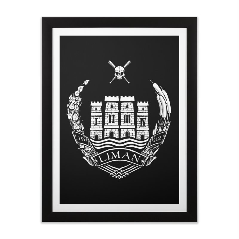 Liman Home Framed Fine Art Print by Propaganda Department