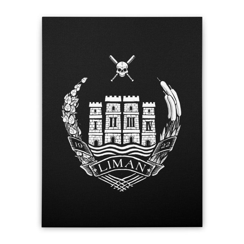 Liman Home Stretched Canvas by Propaganda Department