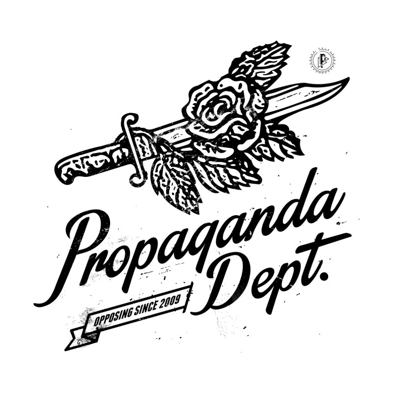 Propaganda Dept. Opposition Men's Pullover Hoody by Propaganda Department