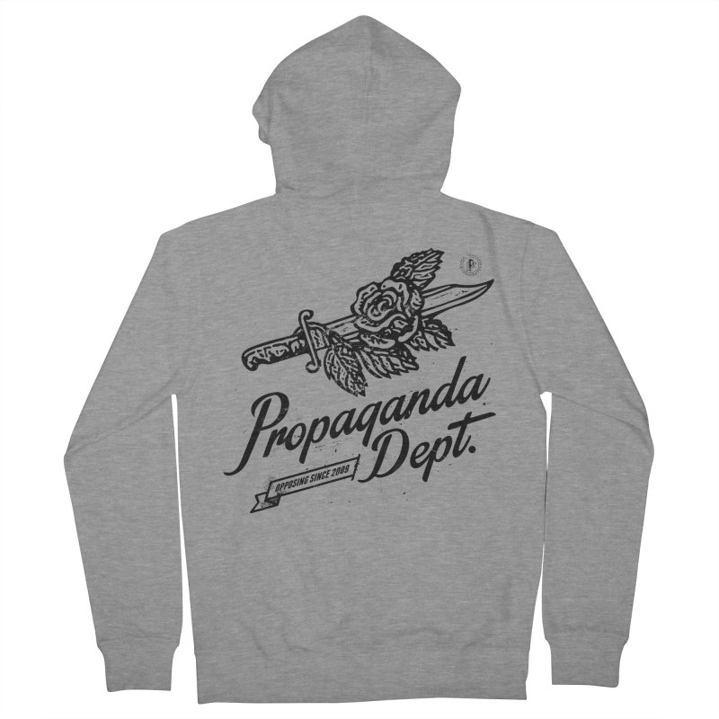 Propaganda Dept. Opposition Men's Zip-Up Hoody by Propaganda Department