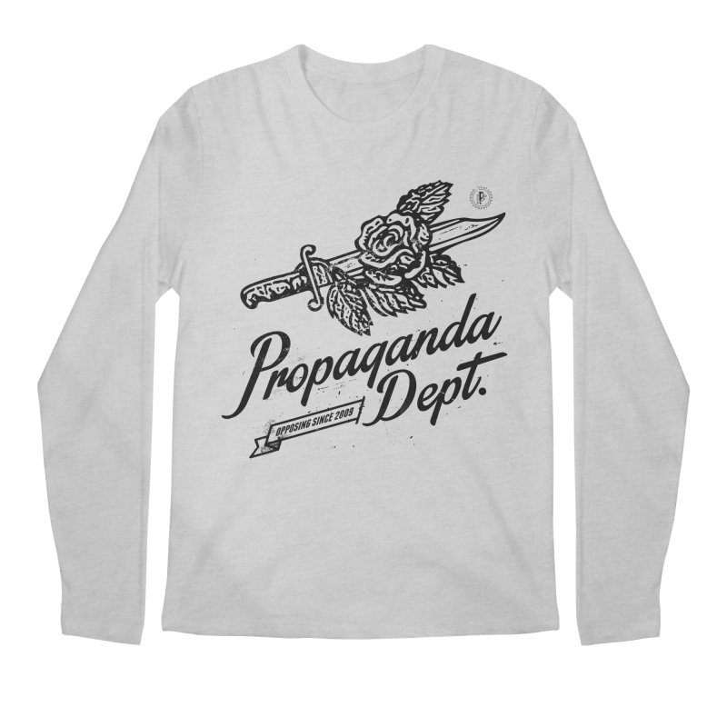 Propaganda Dept. Opposition Men's Regular Longsleeve T-Shirt by Propaganda Department