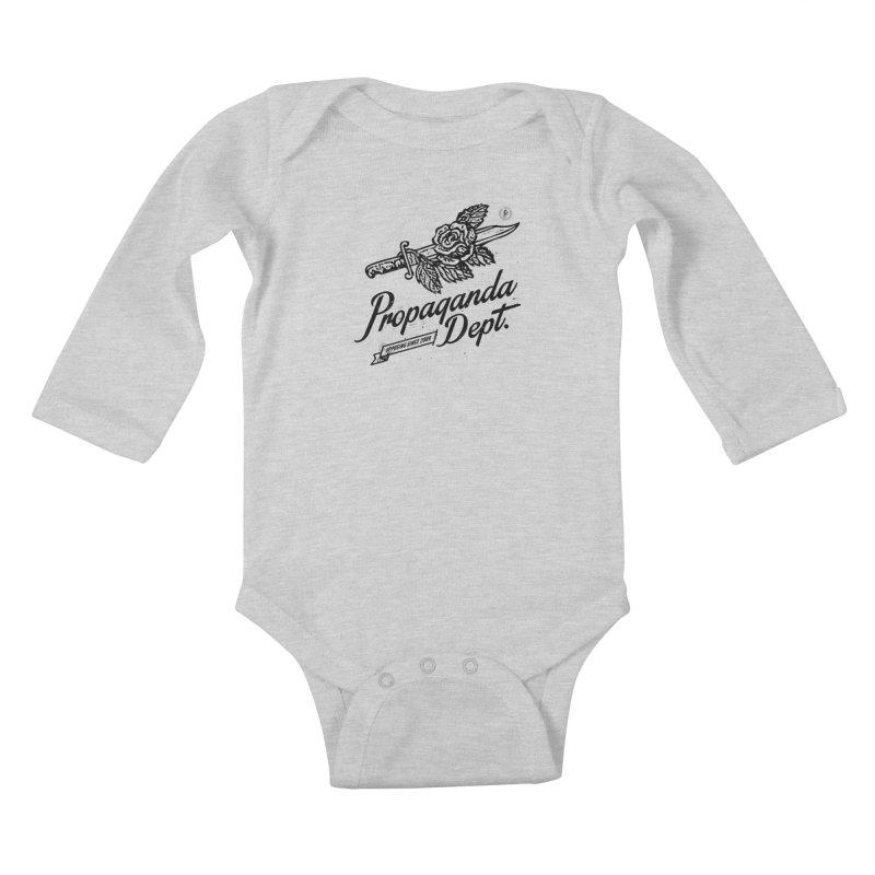 Propaganda Dept. Opposition Kids Baby Longsleeve Bodysuit by Propaganda Department