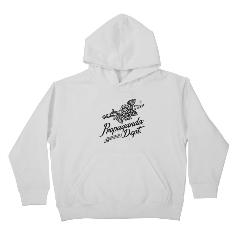 Propaganda Dept. Opposition Kids Pullover Hoody by Propaganda Department