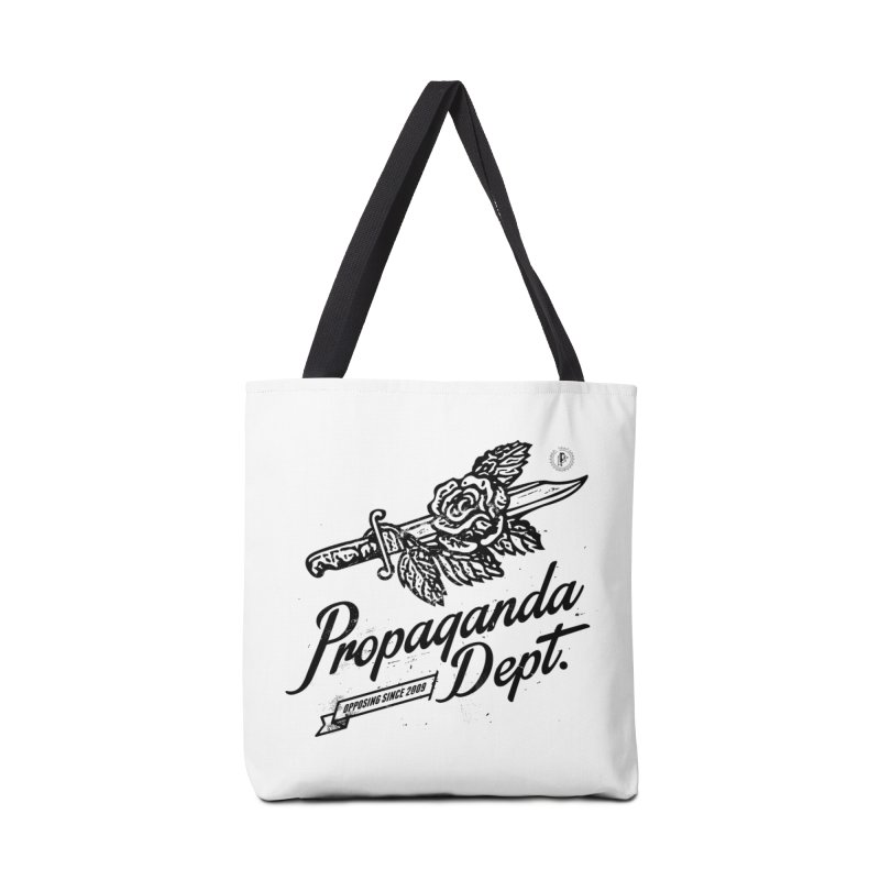 Propaganda Dept. Opposition Accessories Tote Bag Bag by Propaganda Department