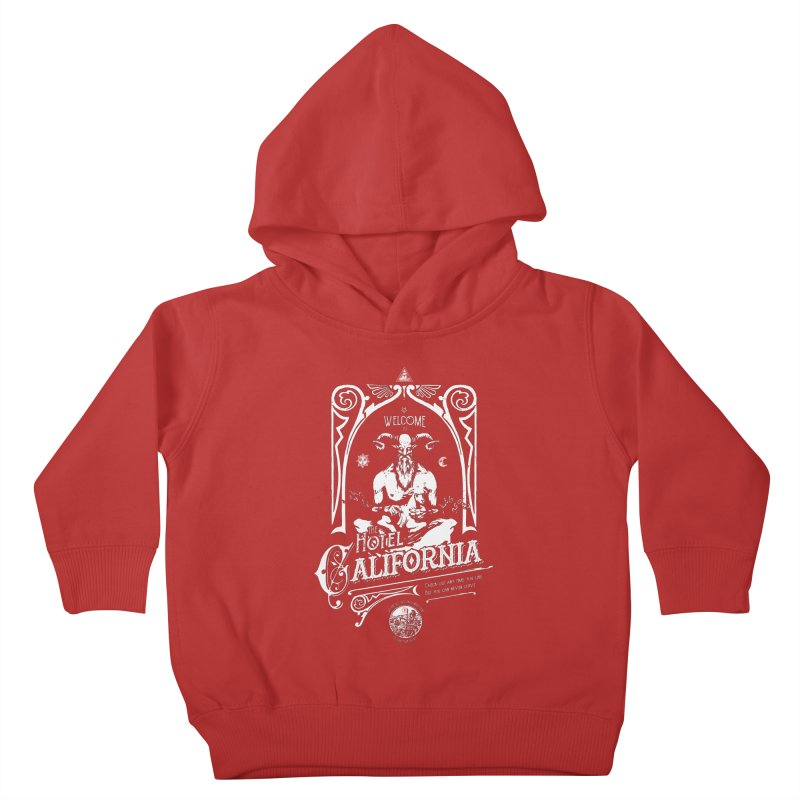 Hotel California Kids Toddler Pullover Hoody by Propaganda Department