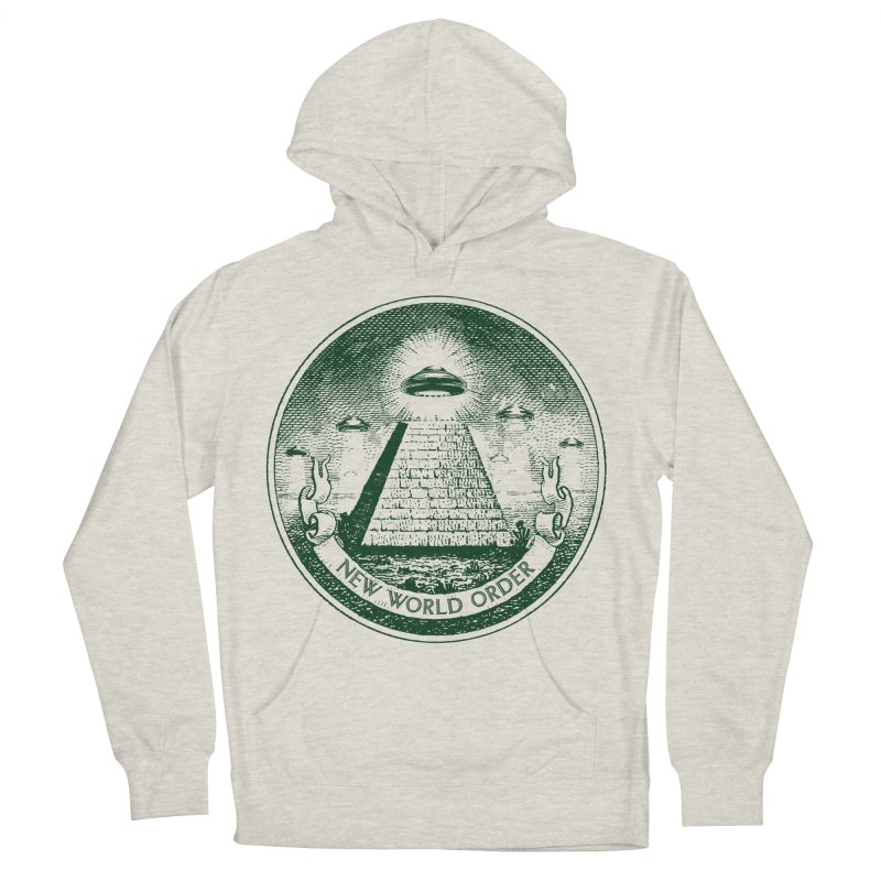 New World Order Men's French Terry Pullover Hoody by Propaganda Department