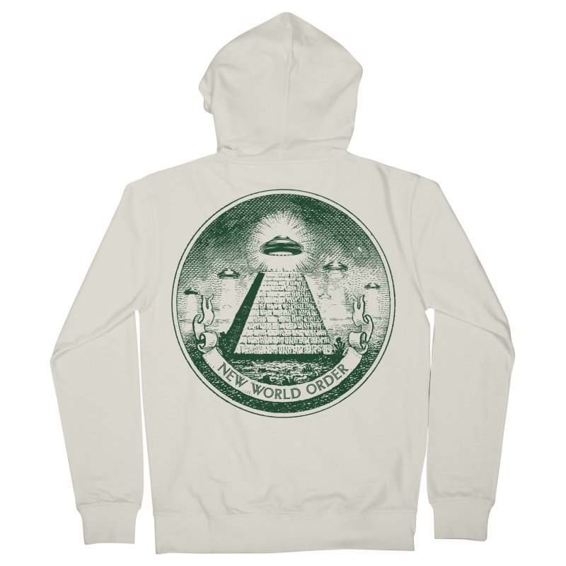 New World Order Men's Zip-Up Hoody by Propaganda Department