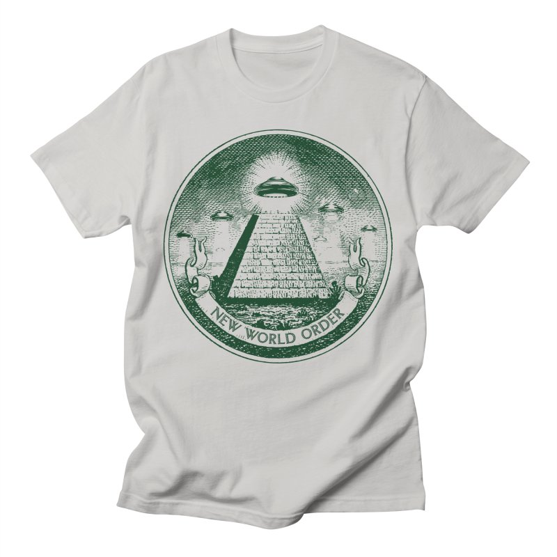New World Order Men's T-Shirt by Propaganda Department