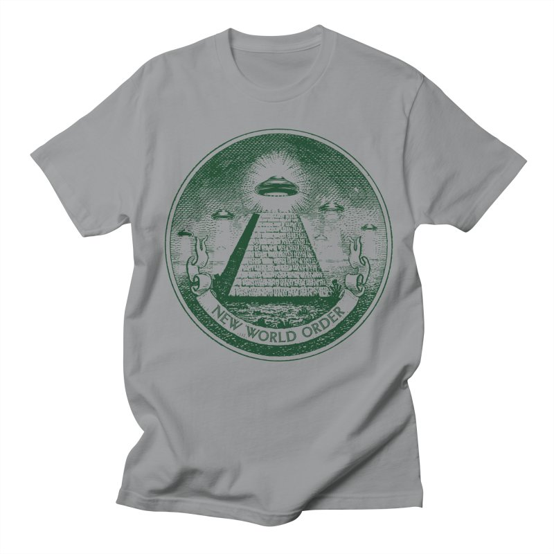 New World Order Women's Regular Unisex T-Shirt by Propaganda Department