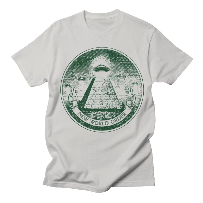 New World Order Men's T-Shirt by Propaganda Department