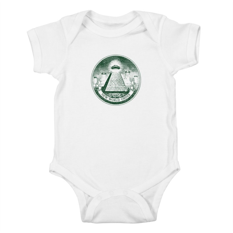 New World Order Kids Baby Bodysuit by Propaganda Department