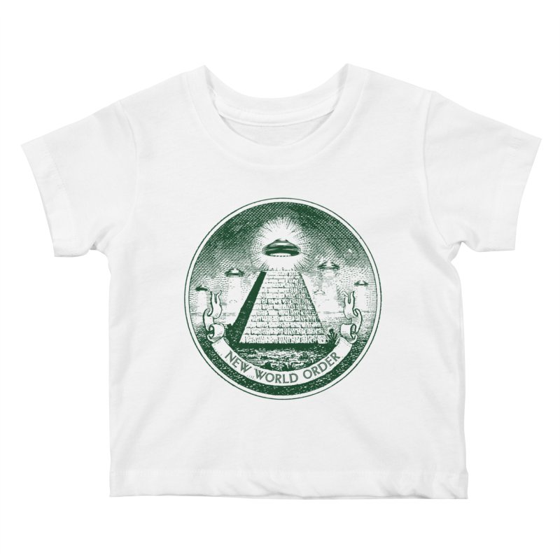 New World Order Kids Baby T-Shirt by Propaganda Department