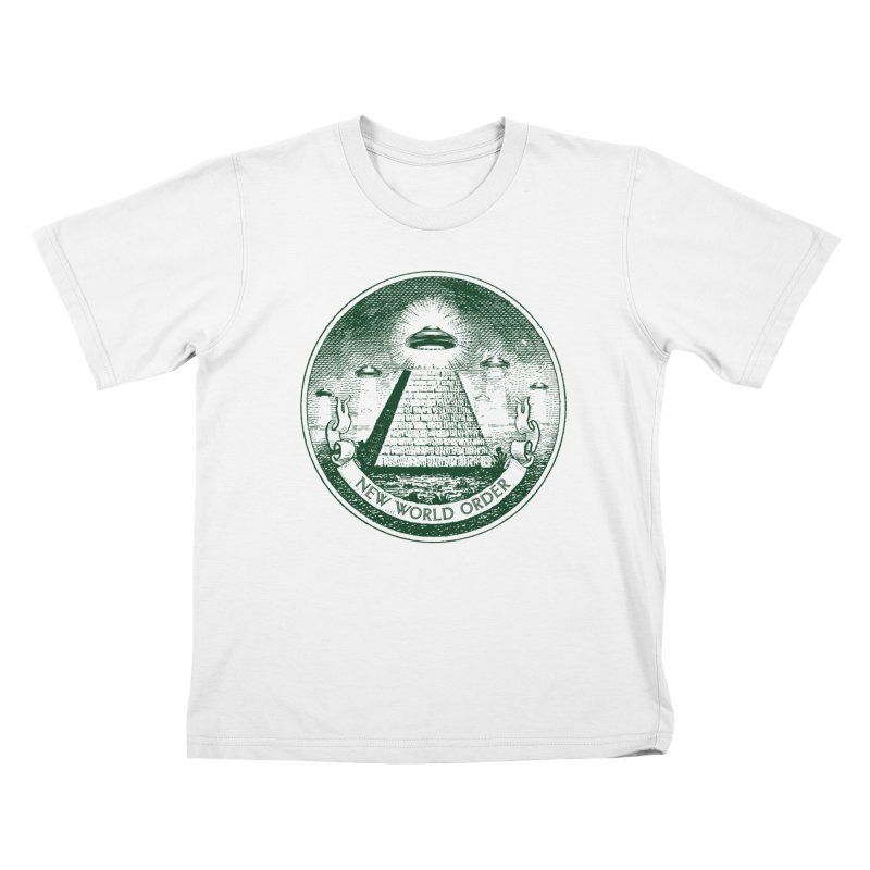 New World Order Kids T-Shirt by Propaganda Department