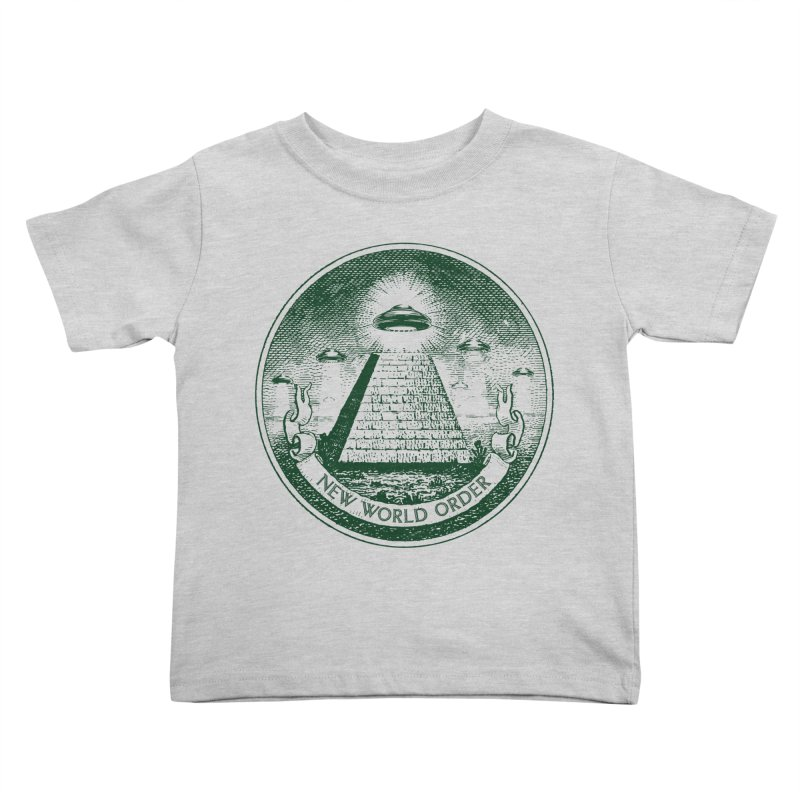 New World Order Kids Toddler T-Shirt by Propaganda Department