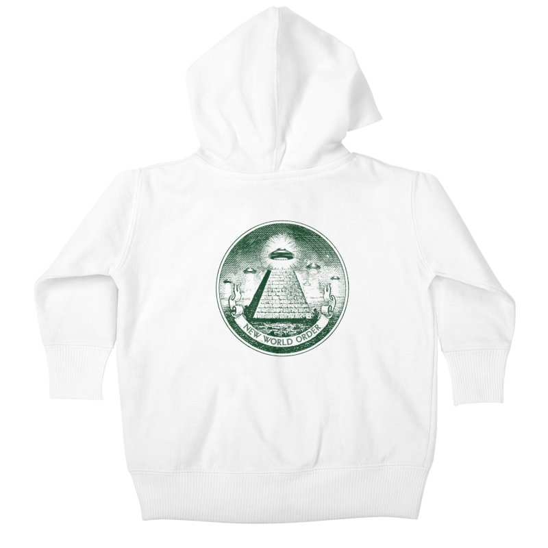 New World Order Kids Baby Zip-Up Hoody by Propaganda Department