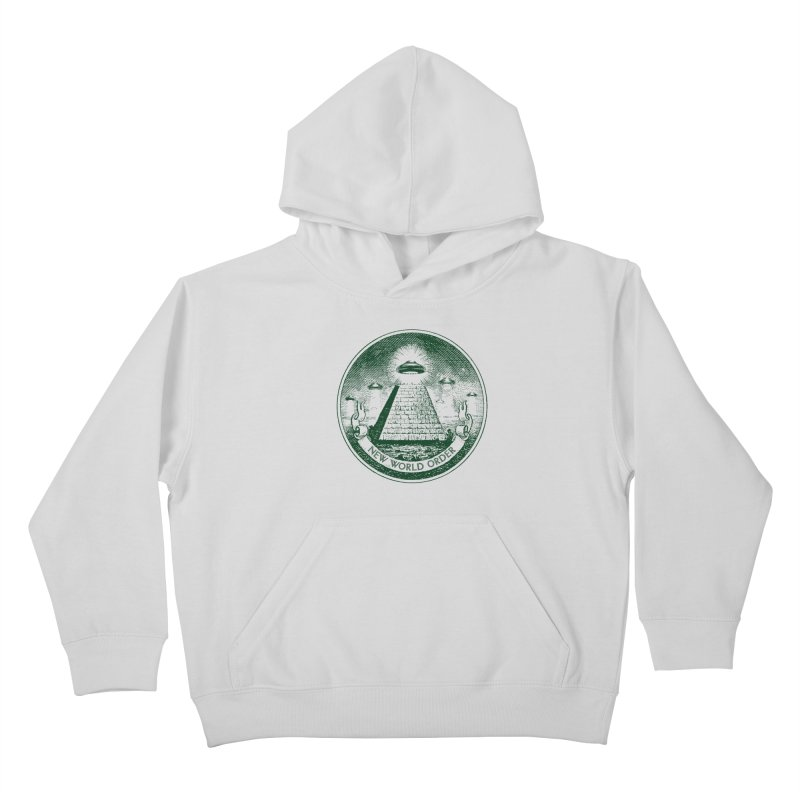 New World Order Kids Pullover Hoody by Propaganda Department